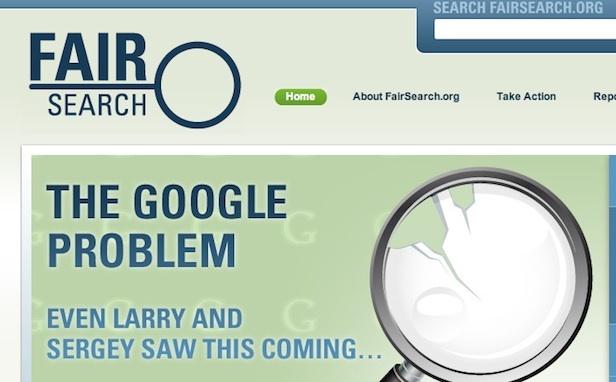 Fairsearch denuncia las estrategias monopolísticas de Google