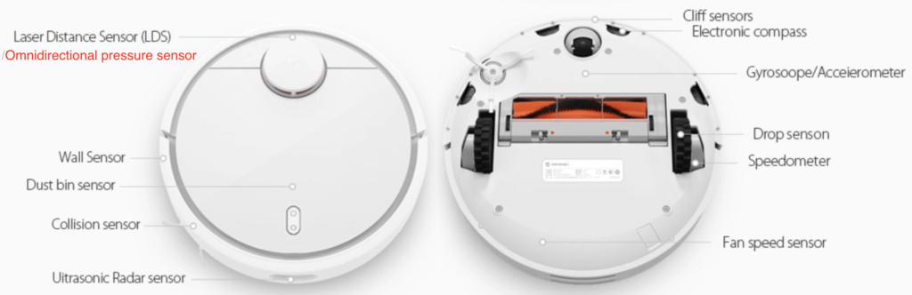 Reparar aspirador Xiaomi Mi Robot Vacuum